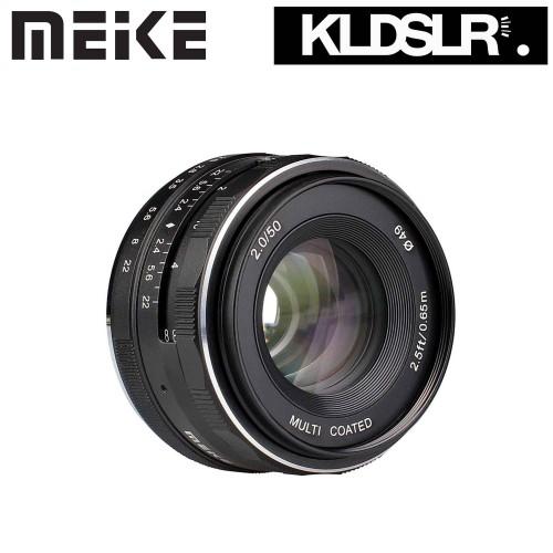Foto Produk MEIKE LENSA 50MM F2 FOR NIKON MIRRORLESS J1 dari Sinar Bahagia Official