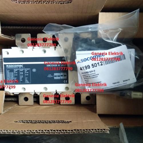 Foto Produk Ohm Saklar - Change Over Switch - COS Socomec Sircover 4P 400A dari Ganesia Elektrik