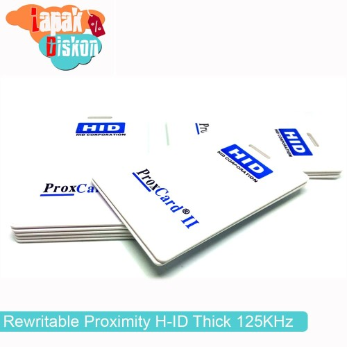 Foto Produk H ID PROX II 1326 Card RFID Rewritable Proximity H-ID Thick 125KHz dari lapakdiskon