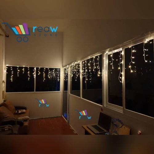 Foto Produk Lampu Tumblr Tirai / Lampu Hias LED Bentuk Tirai dari Reaw Store