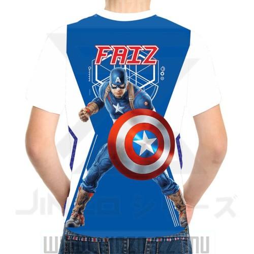 Foto Produk Kaos Anak Avenger 5 Captain America dari Jinzo Series