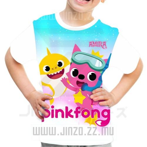Foto Produk Kaos Anak Pinkfong 3 Baby Shark dari Jinzo Series
