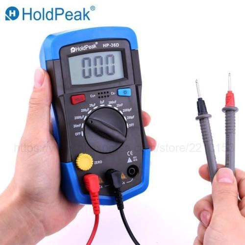 Foto Produk Alat Ukur Kapasitor (Digital Capasitor Meter) A6013L / Multimeter Capa dari flipper
