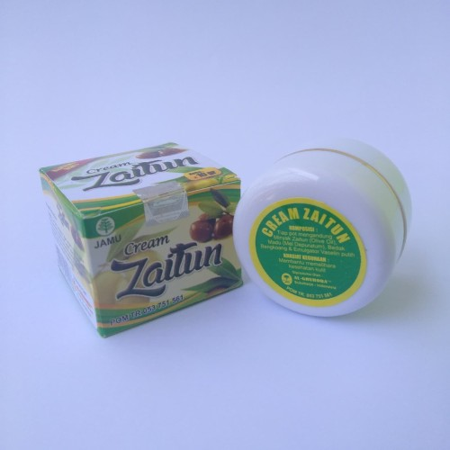 Foto Produk Cream Zaitun Herbal,  Kulit Cerah Dan Halus Alami dari Rumah Rempah Manisha
