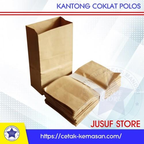 Foto Produk PAPERBAG COKLAT SAMSON POLOS dari new Jusuf Store