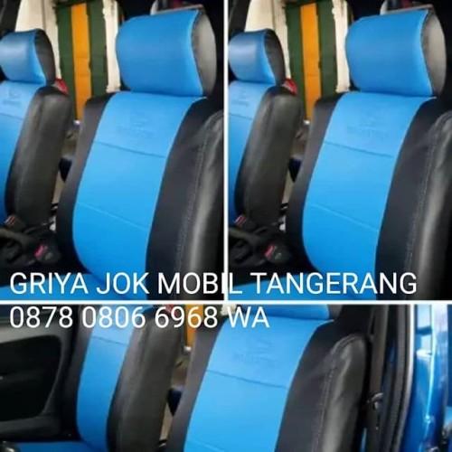 Foto Produk Sarung Jok Mobil Evalia Fullset Bahan Ferrari dari GRIYA JOK MOBIL