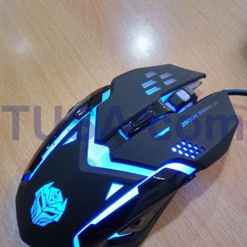 Foto Produk Mouse Gaming Rexus X6 (RXM-X6) warna hitam LED RGB dari RAMAYANA OLSHOP