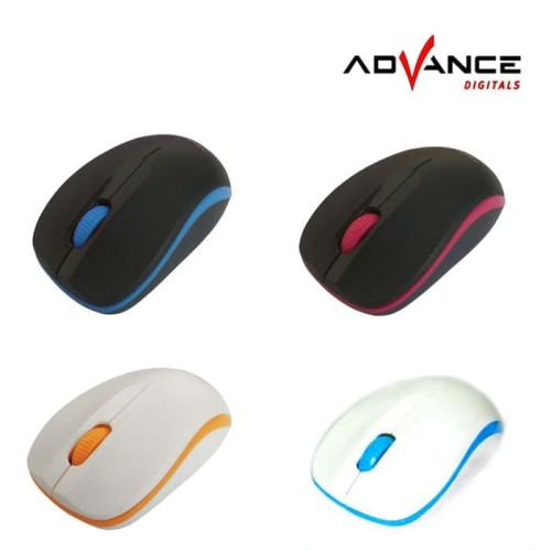 Foto Produk Advance Digitals W10 Optical Wireless Mouse dari Amalia Khariakarina