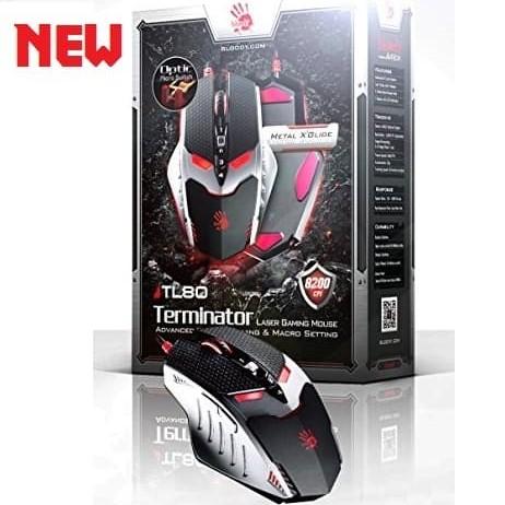 Foto Produk Bloody TL80 Terminator Laser Activated Core4 - Gaming Mouse dari Amalia Khariakarina