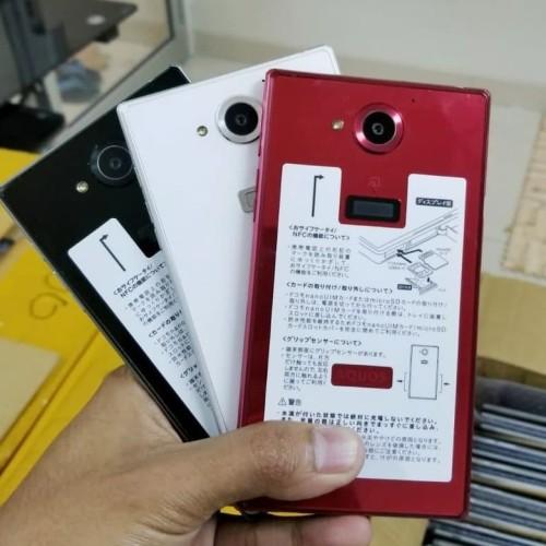 Foto Produk SHARP Aquos Zeta SH03G SH-03G 4G RAM 3GB Internal 32GB Original Docomo - Hitam dari Om Unyet