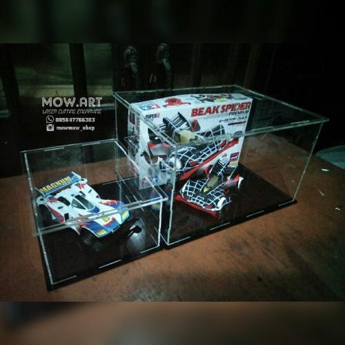 Foto Produk Box Display Produk Diecast Figure Akrilik Acrylic Custom Minimalis dari mowmow-shop