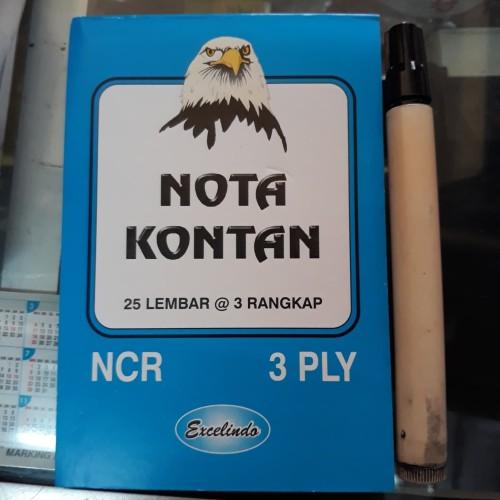 Foto Produk Buku Nota Kontan Kecil 3 Ply / nota kontan 3 rangkap kecil dari Dunia Tape