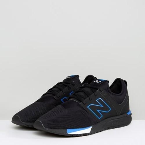 Original Sepatu New Balance 247 Classic Men Lifestyle Black Mrl247pr