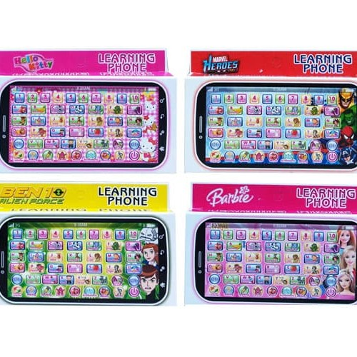 Foto Produk MAINAN TELPON TELPONAN LEARNING PHONE - 5821 HANDPHONE SAMBIL BELAJAR dari D'Best Toys