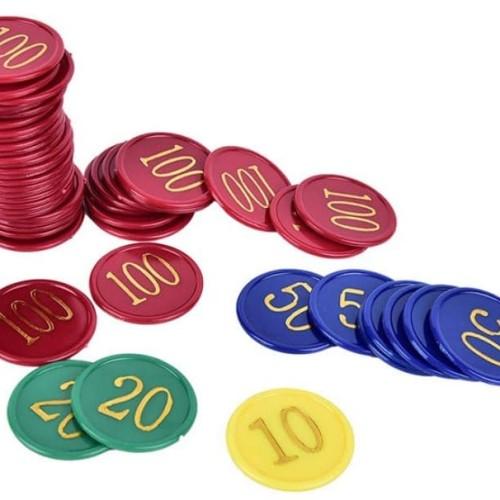 Jual Set Isi 160 Pcs Koin Chips Poker Kasino Jakarta Pusat Sanz Shop0612 Tokopedia