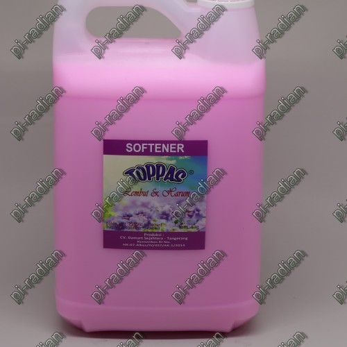 Foto Produk TOPPAS softener pink aroma lembut 5L 5 Liter promo murah dari pi-radian