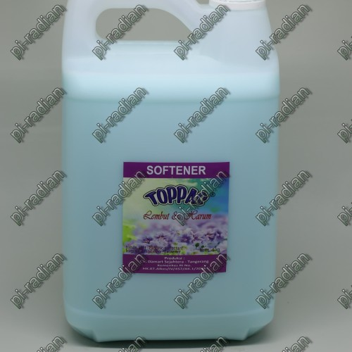 Foto Produk TOPPAS softener blue aroma segar 5L 5 Liter promo murah dari pi-radian