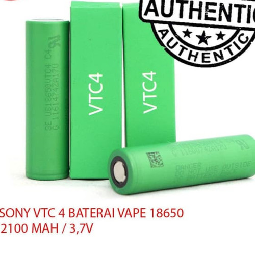 Foto Produk Sony VTC4 100% Authentic | Sony VTC 4 Baterai Vape 18650 Batrai vape dari JakartaVapers