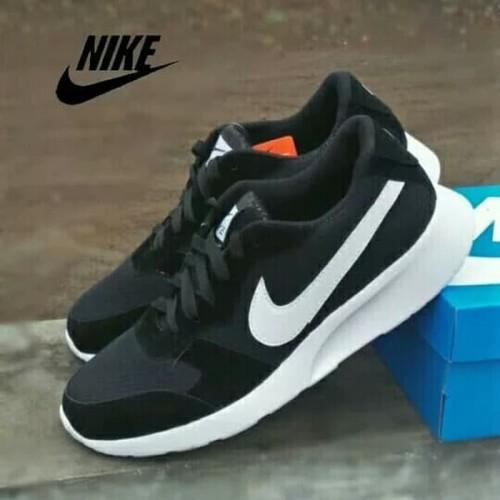 Foto Produk Sepatu Nike Big Size Besar 45 46 47 Abu Gelap Hitam Polos Casual Pria dari Distributor Alat Fitnes