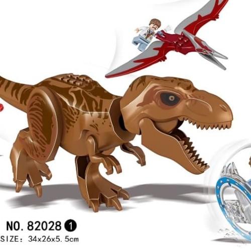 Foto Produk 82028-1 Lego Dinosaur Jurassic World T-Rex & Pteranodon Dinosaurus dari Wil Toys