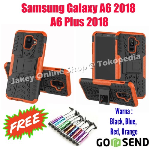 Foto Produk RUGGED ARMOR case Samsung A6 - A6 Plus 2018 softcase casing back cover dari Jakey Online Shop
