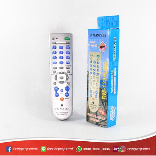 Foto Produk Remot/Remote TV Tabung, LCD, LED Multi/Universal RM-133E LED + Senter dari Pedagang Remot