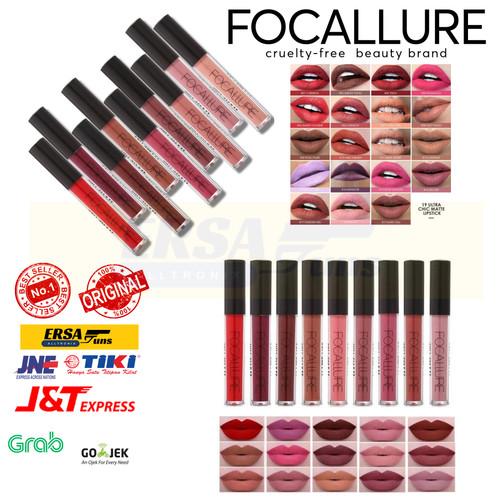Foto Produk Focallure Ultra Chic Matte Lipstick / Lip Matte Original dari Ersaguns