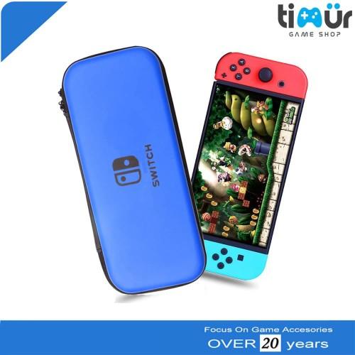 Foto Produk Tas Airfoam Pouch Dompet Case Travel Bag Nintendo Switch Biru dari Timur Game Shop
