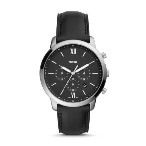 Foto Produk Jam Tangan Pria Fossil Neutra Chronograph Black Leather FS5452 dari Luxolite SG Timepieces