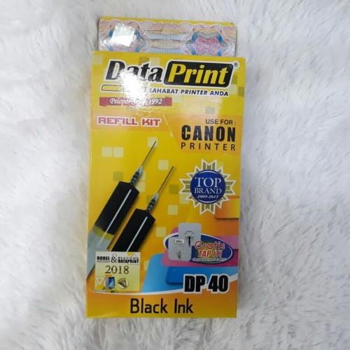 Foto Produk Tinta Suntik Data Print Refill Canon DP40 Black dan DP41 Color - Colour dari Totinmart BEC