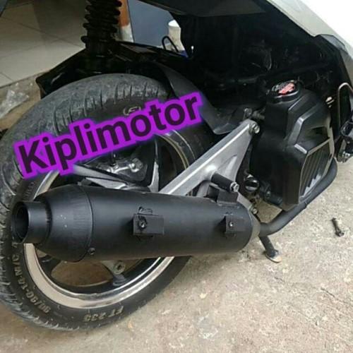 Foto Produk Knalpot Racing bobokan model standar Vario 125 ISS dari Kipli Motor