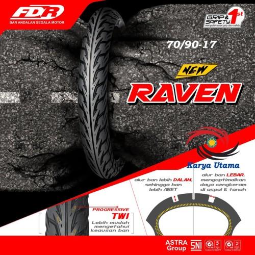 Foto Produk Ban Luar Federal FDR 70/90-17 250-17 70/90 250 Ring 17 Motor Bebek dari Karya Utama shop
