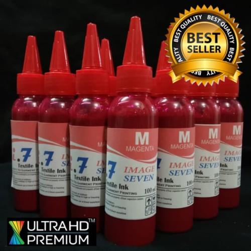 Foto Produk Image Seven Tinta DTG Murah Kualitas Terbaik Magenta (Merah) 100ml dari Hobby Print