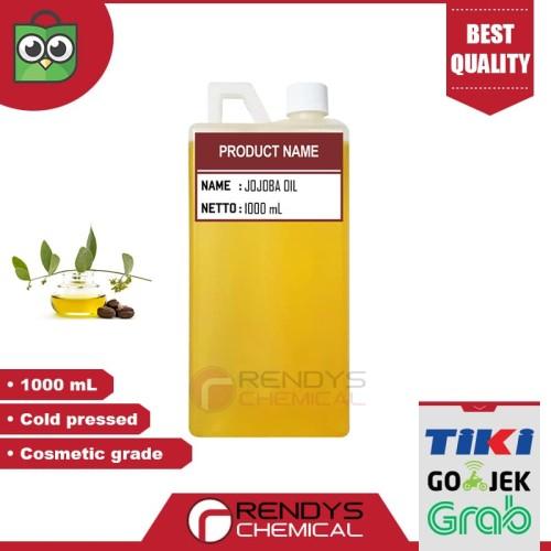 Foto Produk Pure Jojoba Oil 1 liter / Minyak Jojoba - Cosmetic grade - Cold Press dari Rendys Chemical