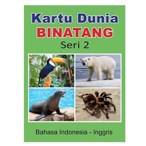 Foto Produk Kartu Binatang Seri 2 - Flash Card Hewan Bayi Murah dari Kinantikomik
