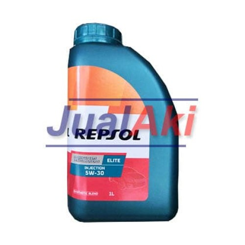 Foto Produk Repsol Elite Injection 5W30 SN Liter dari JualAki