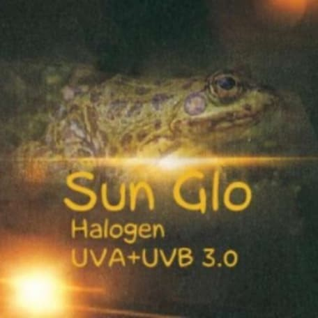 Foto Produk 25w Sun Glo Halogen UVA UVB dari mulia jaya tortuga