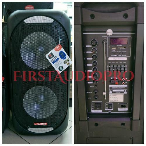 Foto Produk Speaker Portable Meeting Wireless Asatron HT 8887 UKM 2x12inch dari First Audio Pro