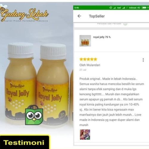 Foto Produk royal jelly 75 Gudang Lebah dari gudang lebah