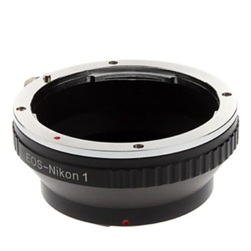 Foto Produk Adapter Lensa Manual Mount Canon EOS EF to Body Nikon V1 dari Stephen online