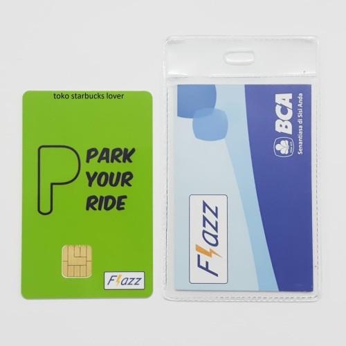 Foto Produk Kartu Flazz BCA Saldo 0 Signs Series - Park Your Ride dari Toko Starbucks lover
