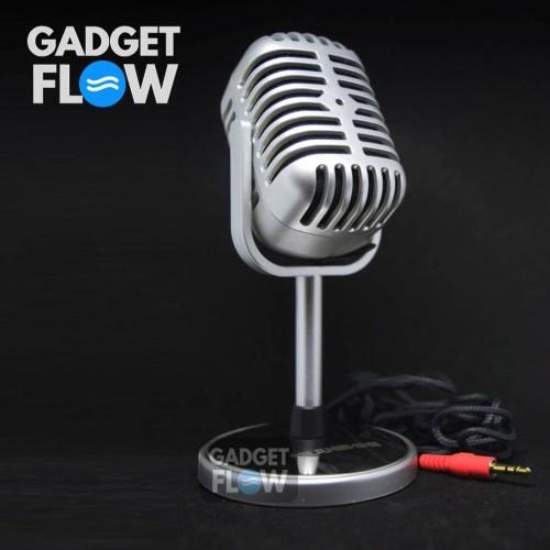 Foto Produk Microphone Mic Karaoke Classic Vintage Retro TRANSHINE dari Gadget Flow
