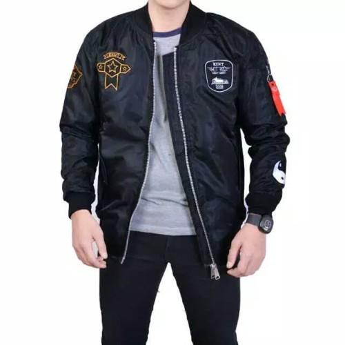 Foto Produk Jaket Bomper pria Jaket Cowok premium Fashion Musim Dingin dan Panas - Tosca, M dari Nuruni Ad