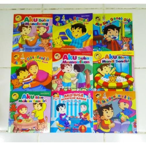 Foto Produk Buku anak / Cerita Bergambar Seri Balita pintar dan muslim Paud colour dari FELL'Z KIDS