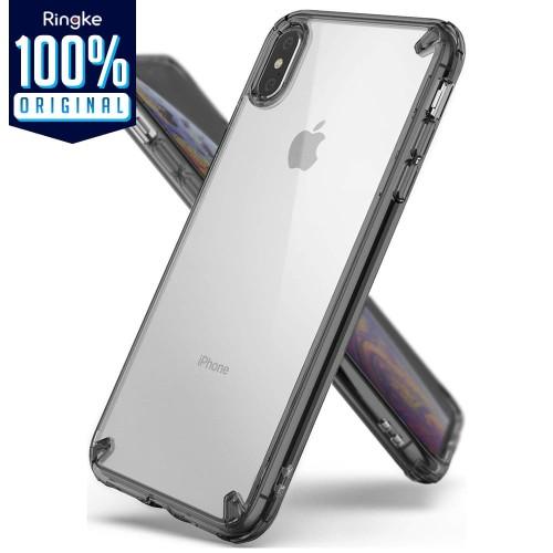 Foto Produk Case iPhone XS Max / XS / X / XR Case Ringke FUSION KIT Casing - XS Max Smoke dari Unicase Store