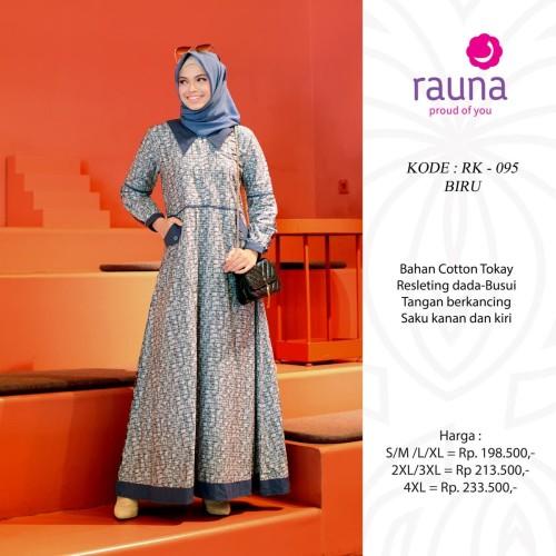 Foto Produk RAUNA RK 095 BIRU - Biru, S dari assalam busana