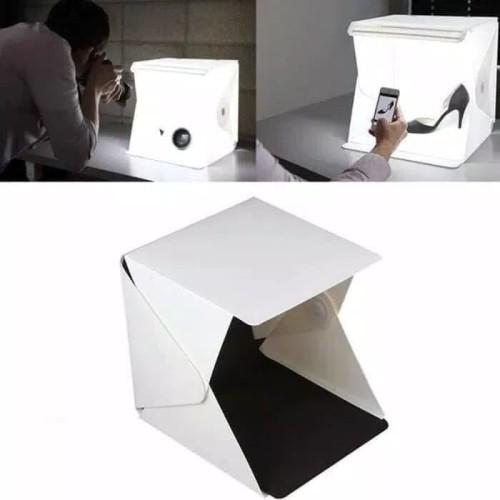 Foto Produk Studio Mini Box Photo Magic Box Kotak Studio Mini Lipat Portable dari BENTENG STORE