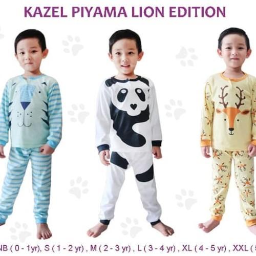 Foto Produk Kazel - Piyama LION Edition - NEWBORN dari Chubby Baby Shop