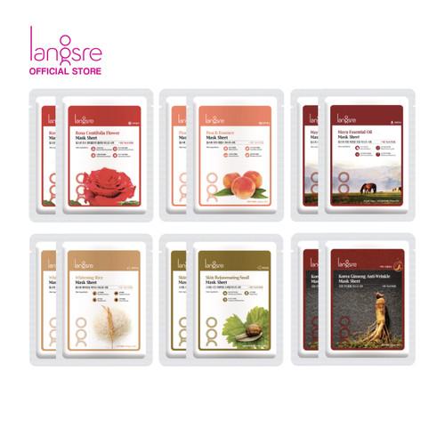 Foto Produk Langsre All Variant Mask Bundle - Mix dari Langsre
