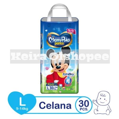 Foto Produk MamyPoko Pants Extra Dry L30 dari Keira Olshopee